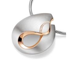 Anhaenger - Silber 925 - E.Safir weiss - 13,89 g