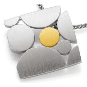 Anhaenger-Silber 925 - Gold - 585 - 12 g
