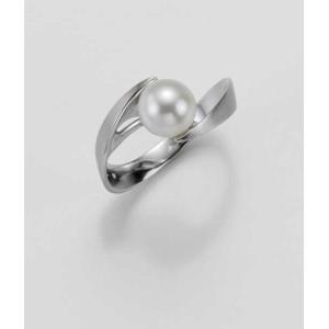 Ring- Gold-585/- Weiß - C.Zuchtperle - 4,88 g